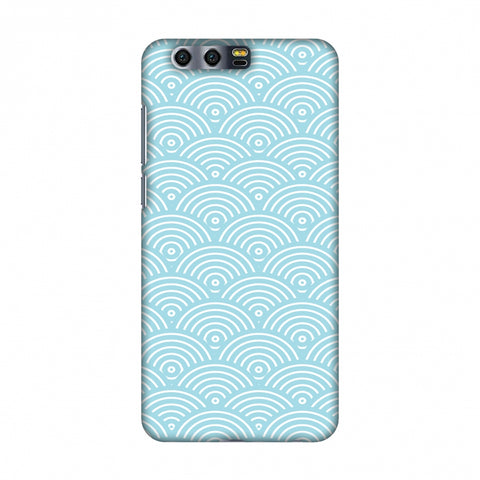 Overlapped Circles Slim Hard Shell Case For Huawei Honor 9