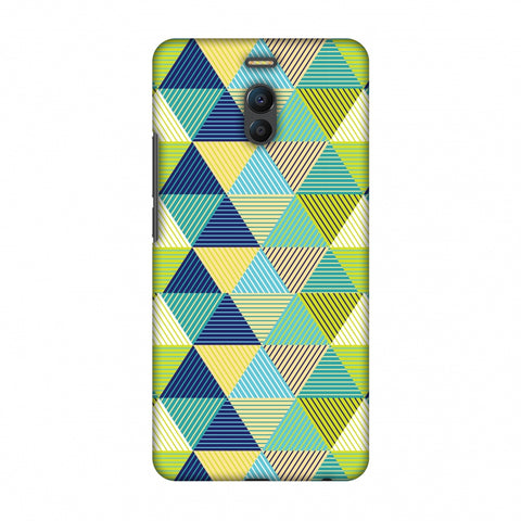 Triangles & Triangles Slim Hard Shell Case For Meizu Note 6 - AMZER Print