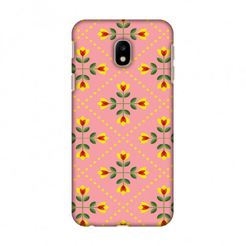 Pretty Flowers 1 Slim Hard Shell Case For Samsung Galaxy J3 Pro 2017