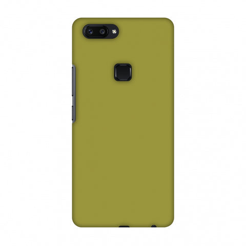 Golden Lime Slim Hard Shell Case For Vivo X20