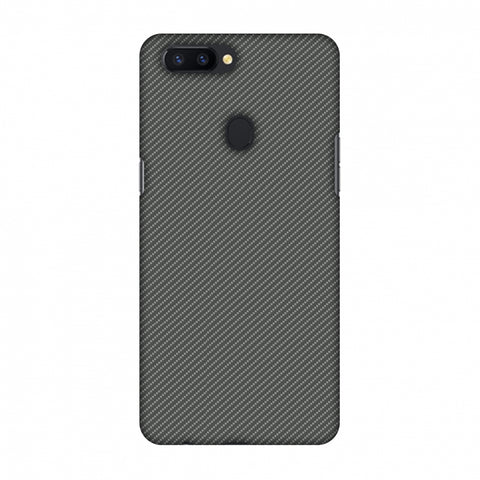 Neutral Grey Texture Slim Hard Shell Case For Oppo R11s Plus