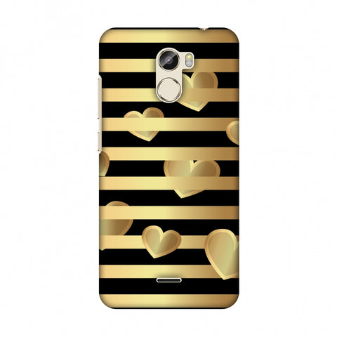 Hearts Between Lines Slim Hard Shell Case For Gionee X1