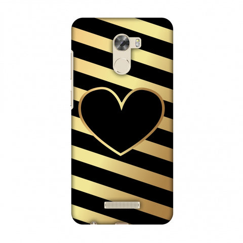 Diagonal Heart Lines Slim Hard Shell Case For Gionee A1 Lite