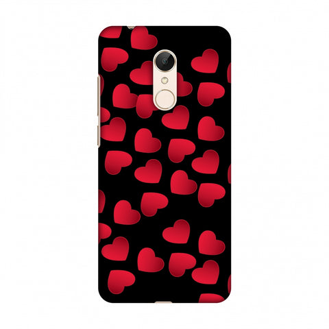 Floating Hearts Slim Hard Shell Case For Xiaomi Redmi 5
