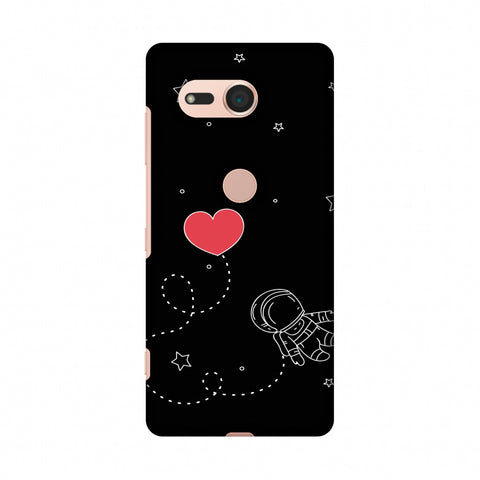 Space Love Slim Hard Shell Case For Sony Xperia XZ2 Compact
