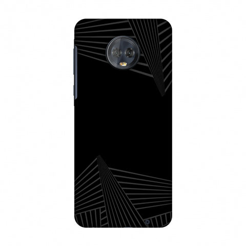 Carbon Fibre Redux 3 Slim Hard Shell Case For Motorola Moto G6 Plus