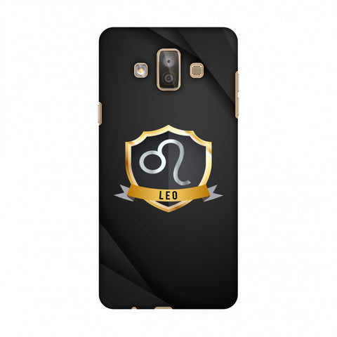 Black Leo Slim Hard Shell Case For Samsung Galaxy J7 Duo