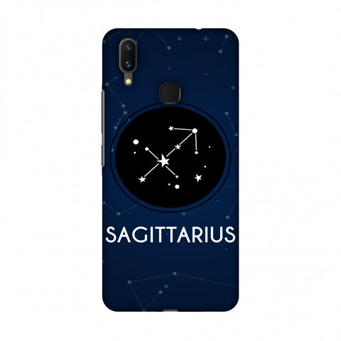 Stars Sagittarius Slim Hard Shell Case For Vivo X21