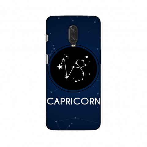 Stars Capricorn Slim Hard Shell Case For OnePlus 6T