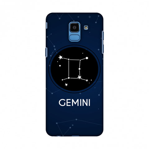 Stars Gemini Slim Hard Shell Case For Samsung Galaxy J6