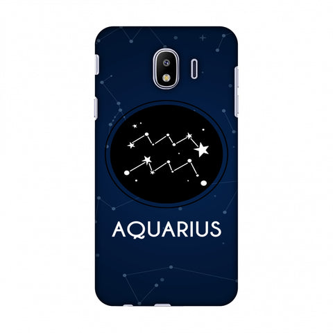 Stars Aquarius Slim Hard Shell Case For Samsung Galaxy J4
