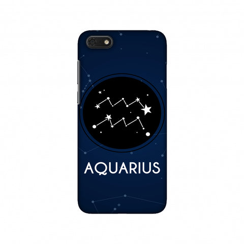 Stars Aquarius Slim Hard Shell Case For Huawei Honor 7S