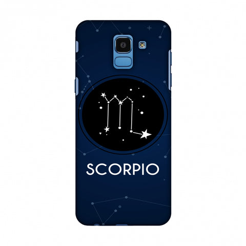 Stars Scorpio Slim Hard Shell Case For Samsung Galaxy On 6