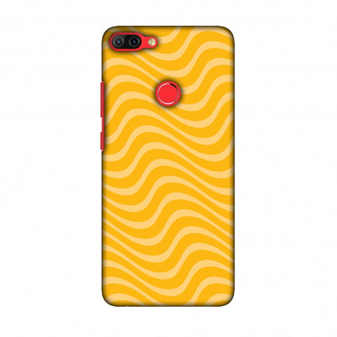 Carbon Fibre Redux Cyber Yellow 9 Slim Hard Shell Case For Infinix Hot 6 Pro