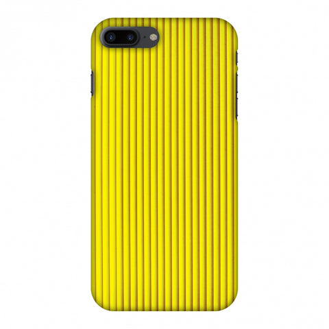 Carbon Fibre Redux Cyber Yellow 12 Slim Hard Shell Case For Apple iPhone 7 Plus