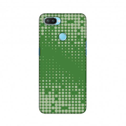 Carbon Fibre Redux Pear Green 12 Slim Hard Shell Case For Oppo Realme 2 Pro