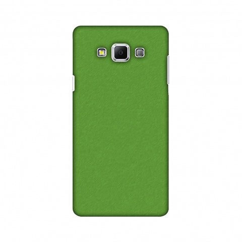 Carbon Fibre Redux Pear Green 15 Slim Hard Shell Case For Samsung Galaxy A7