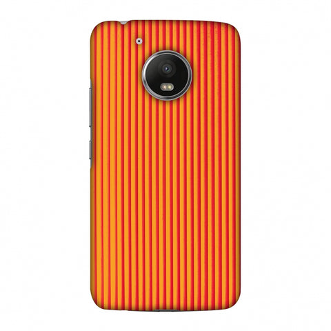 Carbon Fibre Redux Tangy Orange 14 Slim Hard Shell Case For Motorola Moto G5