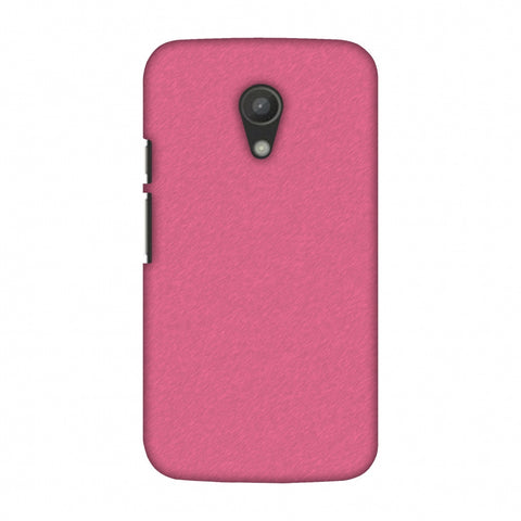 Carbon Fibre Redux Hot Pink 11 Slim Hard Shell Case For Motorola Moto G 2 Gen