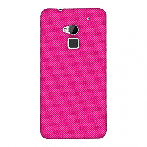Carbon Fibre Redux Hot Pink 13 Slim Hard Shell Case For HTC One Max
