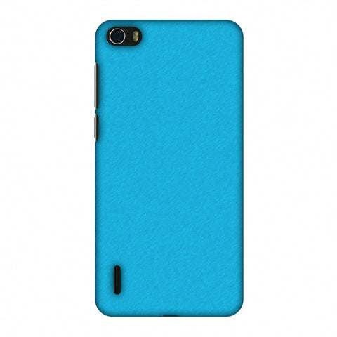 Carbon Fibre Redux Coral Blue 15 Slim Hard Shell Case For Huawei Honor 6
