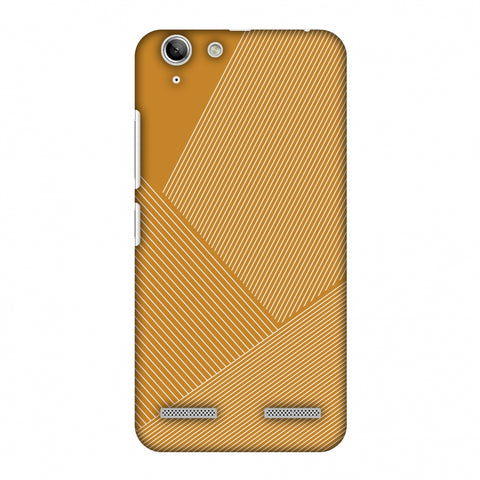 Carbon Fibre Redux Desert SAnd 1 Slim Hard Shell Case For Lenovo Vibe K5 Plus
