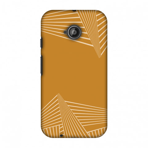 Carbon Fibre Redux Desert SAnd 3 Slim Hard Shell Case For Motorola Moto E 2nd Gen