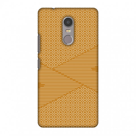 Carbon Fibre Redux Desert SAnd 6 Slim Hard Shell Case For Lenovo K6 Note