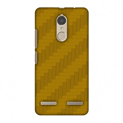 Carbon Fibre Redux Desert SAnd 8 Slim Hard Shell Case For Lenovo K6 Power