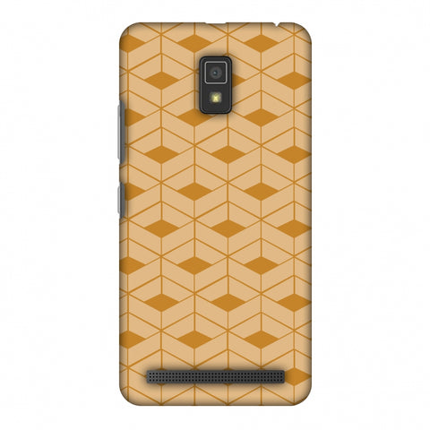 Carbon Fibre Redux Desert SAnd 9 Slim Hard Shell Case For Lenovo A6600