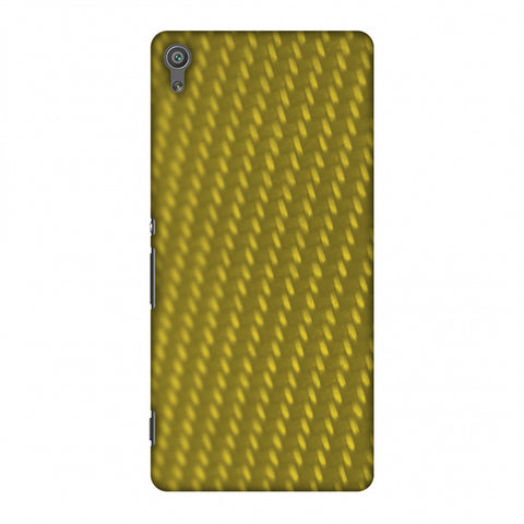 Carbon Fibre Redux Desert SAnd 12 Slim Hard Shell Case For Sony Xperia XA Ultra