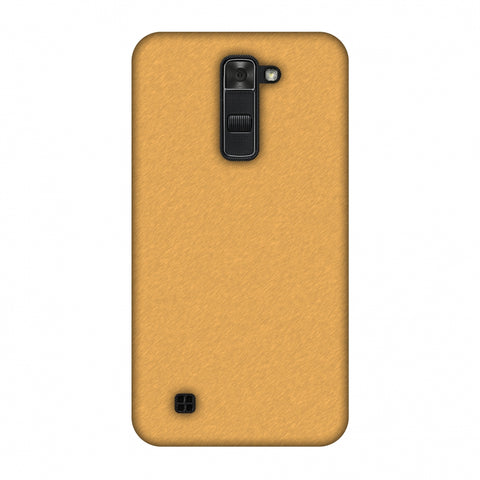 Carbon Fibre Redux Desert SAnd 14 Slim Hard Shell Case For LG K7