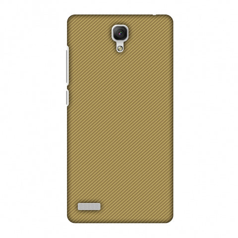 Carbon Fibre Redux Desert SAnd 15 Slim Hard Shell Case For Xiaomi Redmi Note Prime