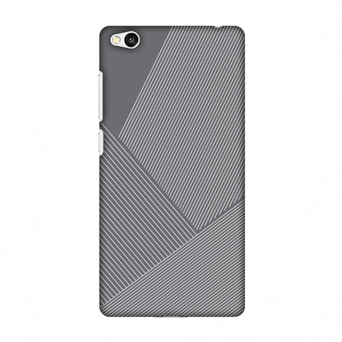 Carbon Fibre Redux Stone Gray 1 Slim Hard Shell Case For Xiaomi Redmi 3