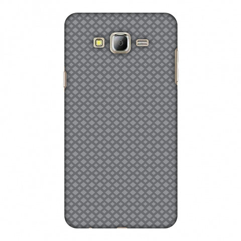 Carbon Fibre Redux Stone Gray 7 Slim Hard Shell Case For Samsung Galaxy On 8