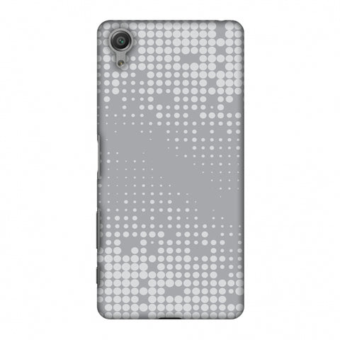 Carbon Fibre Redux Stone Gray 11 Slim Hard Shell Case For Sony Xperia X
