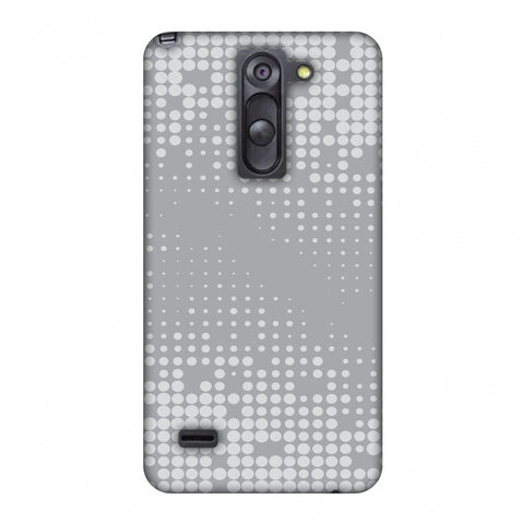 Carbon Fibre Redux Stone Gray 11 Slim Hard Shell Case For LG G3 Stylus D690