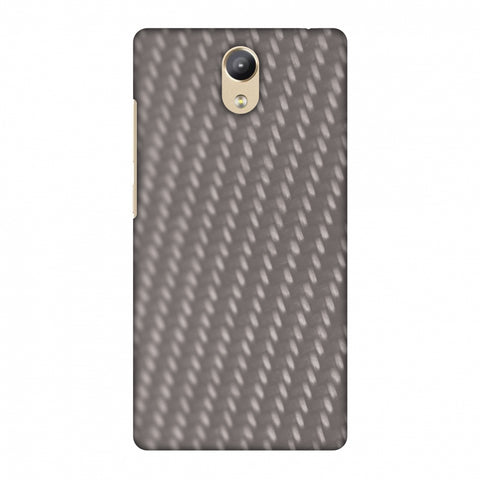 Carbon Fibre Redux Stone Gray 12 Slim Hard Shell Case For Lenovo Phab 2