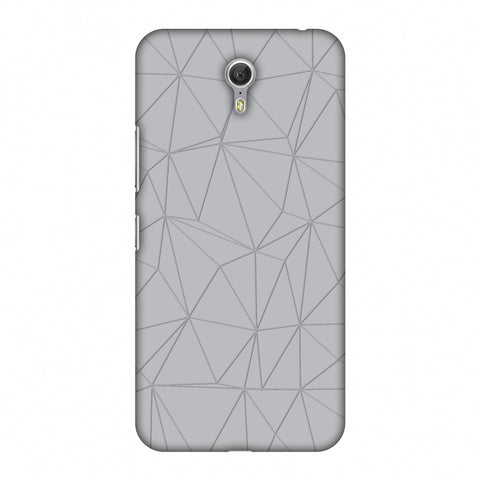 Carbon Fibre Redux Stone Gray 13 Slim Hard Shell Case For Lenovo Zuk Z1