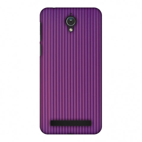 Carbon Fibre Redux Electric Violet 7 Slim Hard Shell Case For Asus Zenfone Go ZC500TG