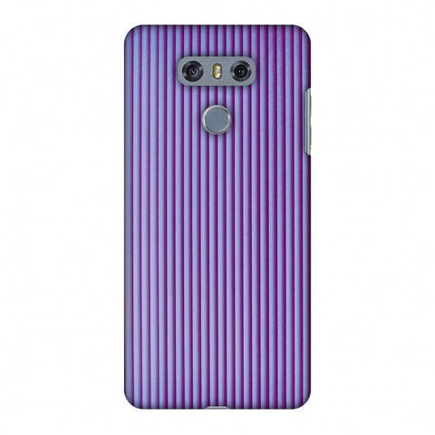 Carbon Fibre Redux Electric Violet 8 Slim Hard Shell Case For LG G6