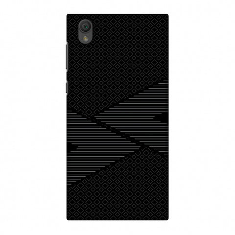 Carbon Fibre Redux 6 Slim Hard Shell Case For Sony Xperia L1