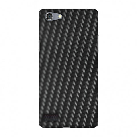 Carbon Fibre Redux 14 Slim Hard Shell Case For Oppo Neo 7