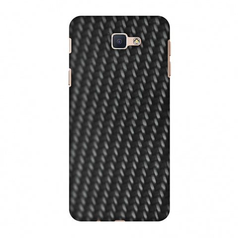 Carbon Fibre Redux 14 Slim Hard Shell Case For Samsung GALAXY J5 Prime