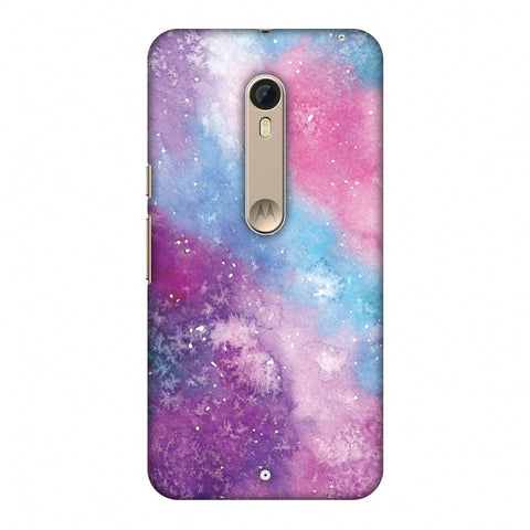 Galaxy Marble 2 Slim Hard Shell Case For Motorola Moto X Style