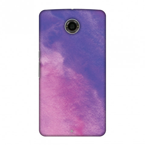 Galaxy Marble 4 Slim Hard Shell Case For Motorola Nexus 6