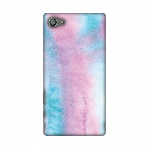 Galaxy Marble 5 Slim Hard Shell Case For Sony Xperia Z5 Compact