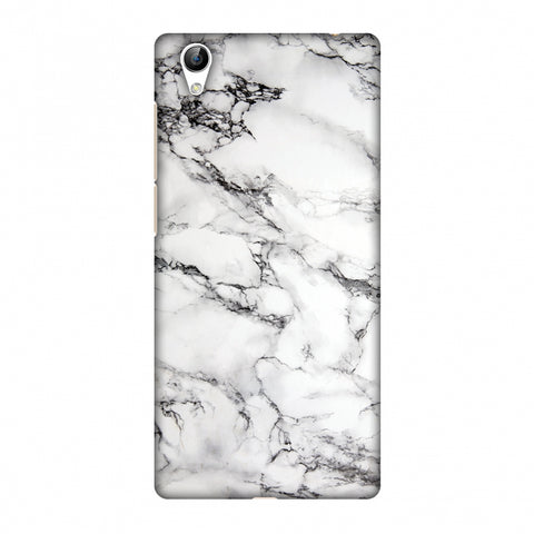 White Marble 2 Slim Hard Shell Case For Vivo Y51L-Y51
