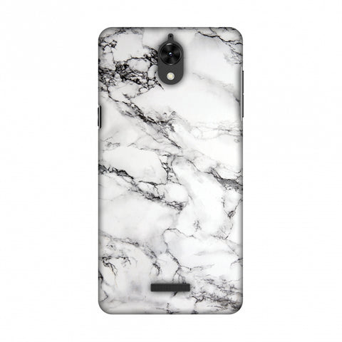 White Marble 2 Slim Hard Shell Case For Coolpad Mega 25D