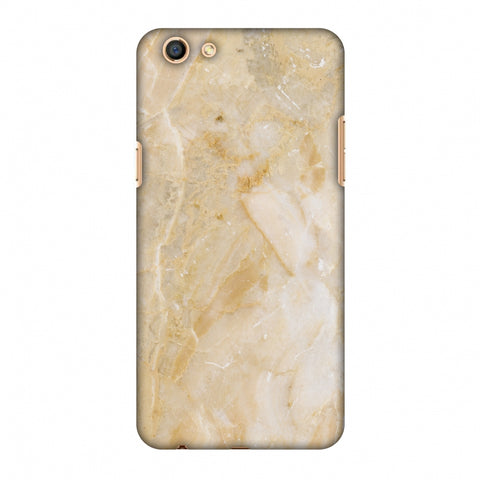 Caramel Marble Slim Hard Shell Case For Oppo F3